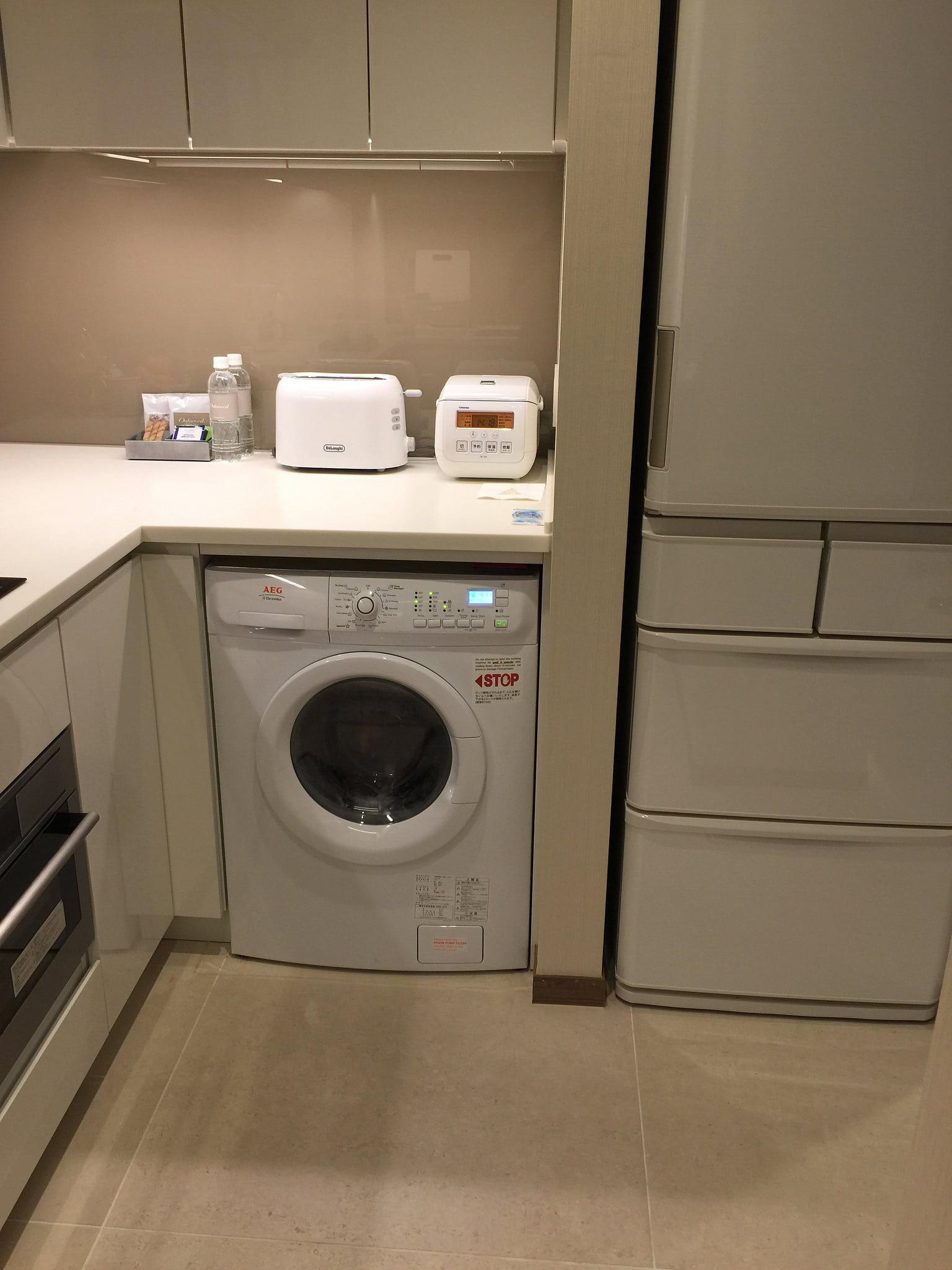 in-room washing machines